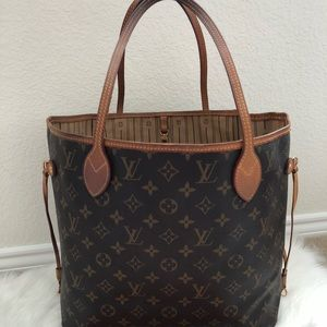 Authentic preowned lv Neverfull mm
